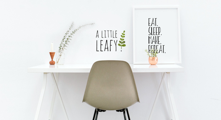 A Little Leafy Desk - About Me