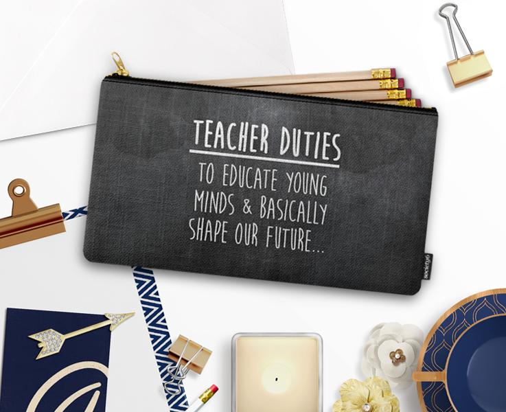 Teacher Duties - Carry-All Pouch