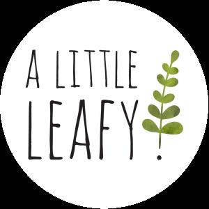 A Little Leafy Logo