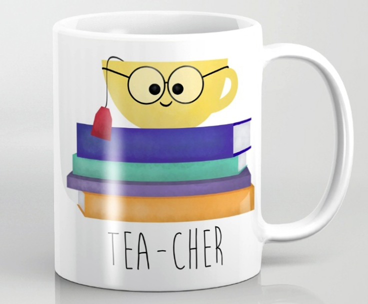 Tea--cher Mug