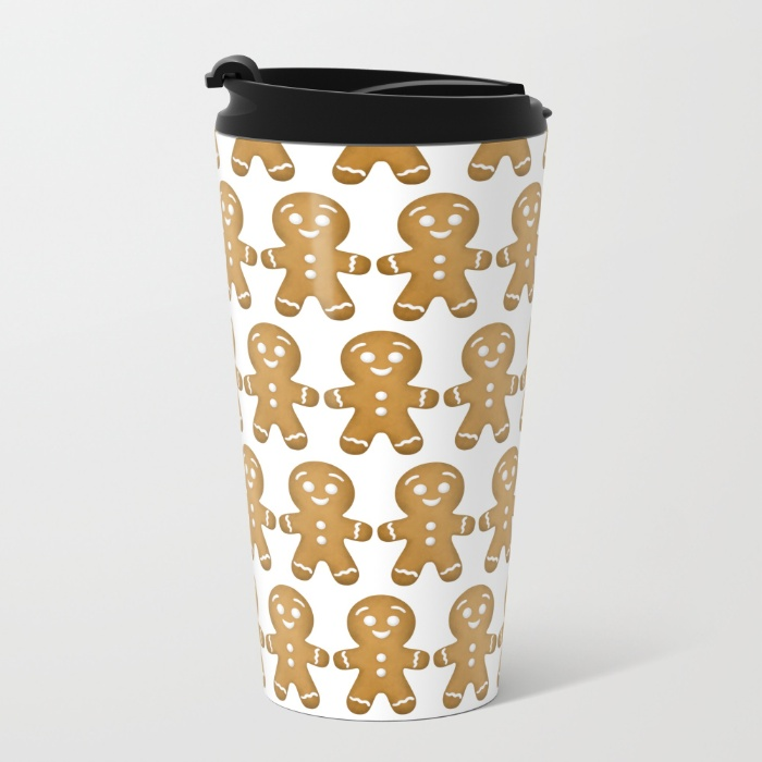 gingerbread-cookies-pattern-metal-travel-mugs