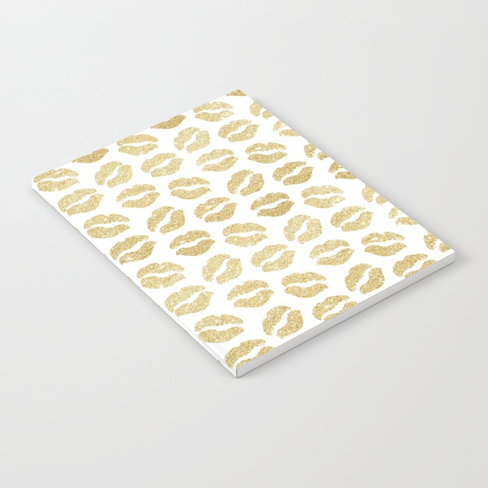 gold-glitter-lips-notebooks