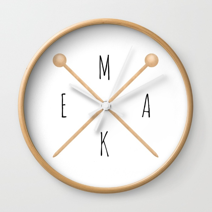make-knitting-needles-wall-clocks