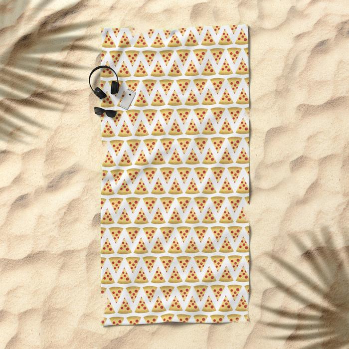 pizza-pattern-sm1-beach-towels