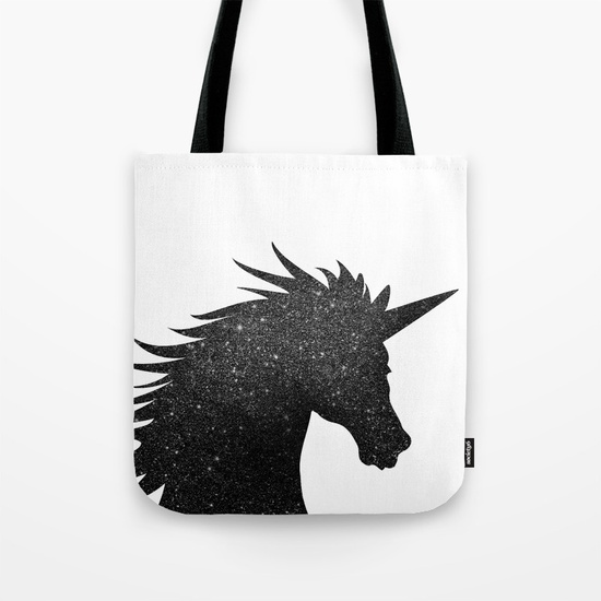 black-glitter-unicorn-bags