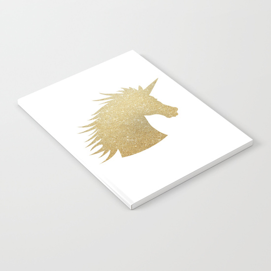 gold-glitter-unicorn-notebooks