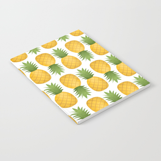 pineapple-pattern-dv4-notebooks