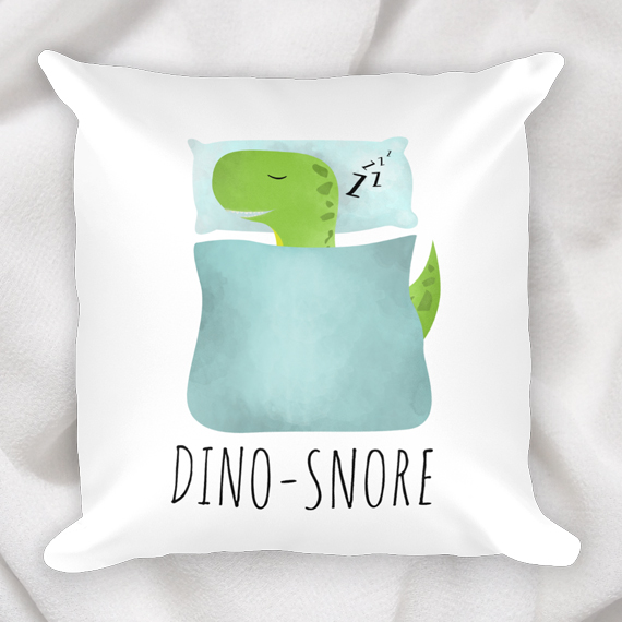 dinosnore_pillow